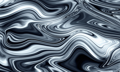 Liquid marble pattern