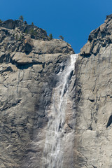 yosemite waterfall in summer