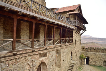 Kakheti Region, Georgia. David Gareja monastery .