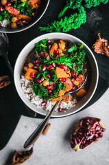 Moroccan Sweet Potato, Kale, and Chickpea Stew