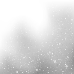 winter snow gray background