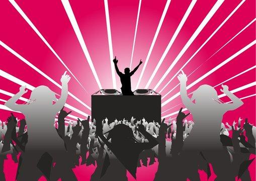 Fiesta de discoteca