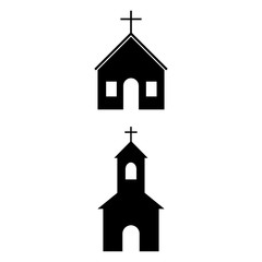 The Church is an icon, a logo on a white background