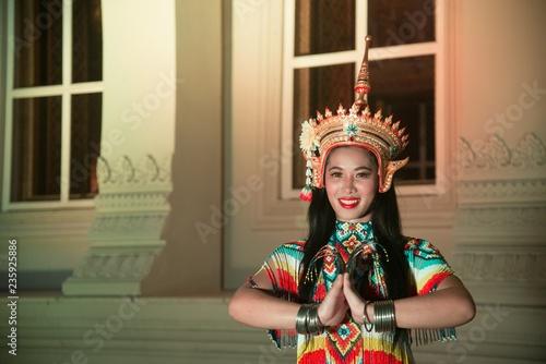 Classical Thai tune Monohra is a type of dance drama