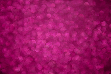 Pink bokeh defocused background