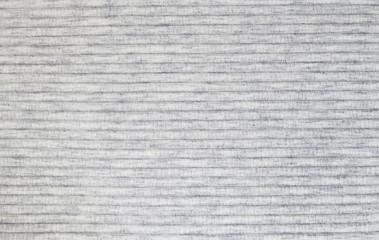 Closeup of gray melange jersey textile