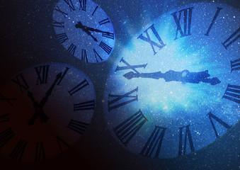 時間と空間のイメージ