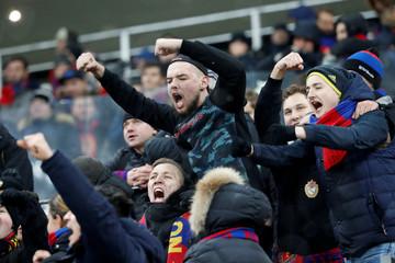 Champions League - Group Stage - Group G - CSKA Moscow v Viktoria Plzen