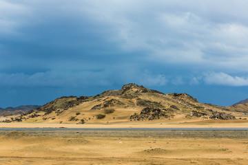 saudi arabian desert landsacpe