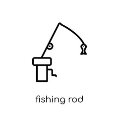 Fishing Rod icon from Camping collection.