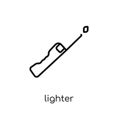 Lighter icon from Camping collection.