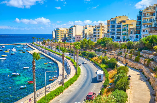 Bugibba city is one of the most favourite resorts in Malta, that offer magnificent views, comfortable accommodation and cozy places for leisure walks