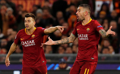 Champions League - Group Stage - Group G - AS Roma v Real Madrid