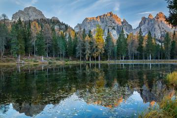 Lago di Antorno , Dolomites