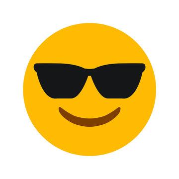 smiling sunglass emoji