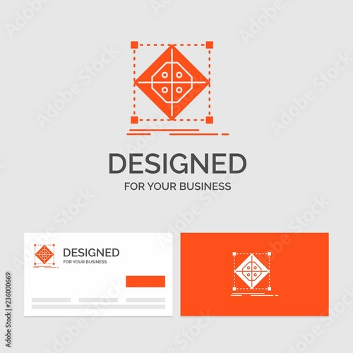 business logo template for architecture cluster grid model