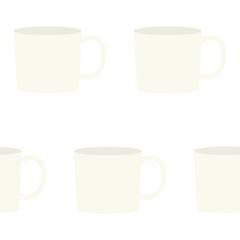 マグカップの総柄