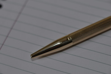 Solid Gold Pen
