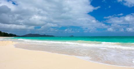 Gorgeous Tropical Island Beach in Hawaii