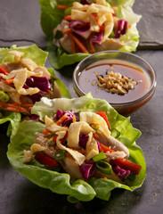 Lettuce Leaf Salad