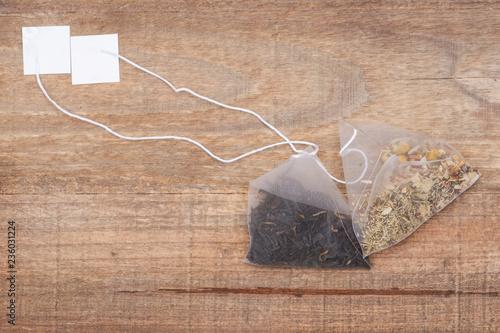 Organic whole leaf earl grey and chamomile citrus tea in