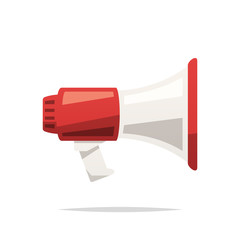 Megaphone vector isolated
