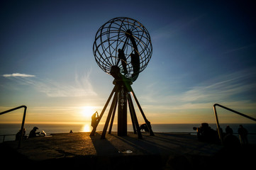 Wall Murals Northern Europe Landscape view in North Cape, Nordkapp Norway