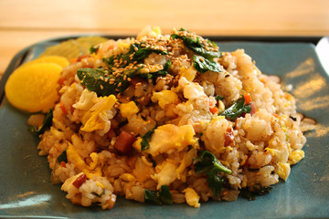 Korean Style Dish / Vegetable Fried Rice