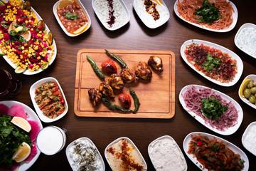 Middle Eastern Kitchen, Grilled chicken shish kebab