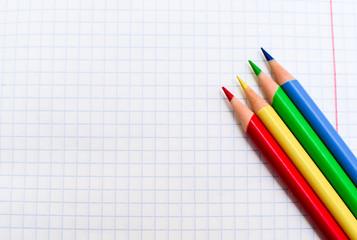 pencil notebook