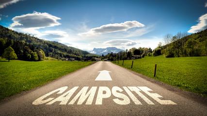 Sign 401 - Campsite