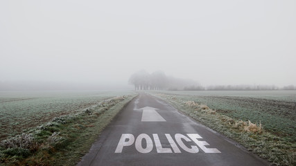 Sign 402 - Police