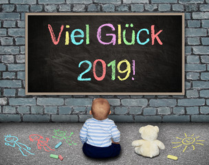 Tafel - Viel Glück 2019