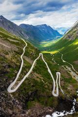 Norway troll road, Norway