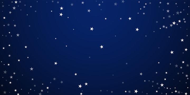 Random falling stars Christmas background. Subtle