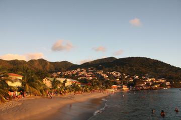 Martinique, fin de baignade dans l'anse d'Arlet