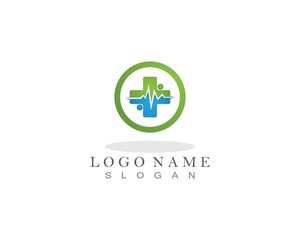 Medical and Health Logo and symbol template app