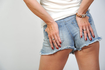 sexy po weinblich in jeans