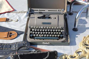 Typewriter at Flea Market