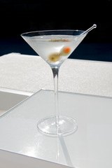 Martini By Pool Side Lounger