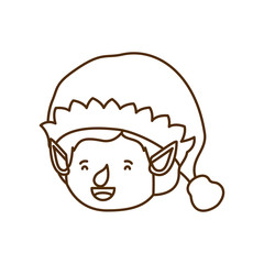 elf head with hat avatar character