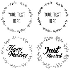 Floral Decorative Wedding Design