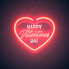 neon vday greeting card 3