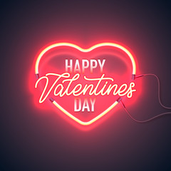 neon vday greeting card 2