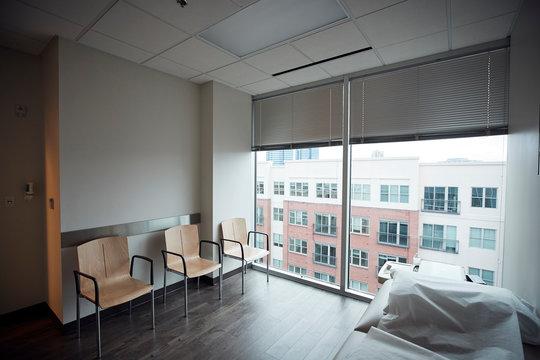 Empty doctor's office