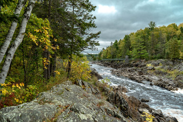 Storm Clouds over the St. Louis River at Jay Cooke State Park