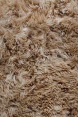 brown sheepskin fur texture background