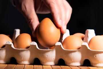 Egg as a symbol of a new idea
