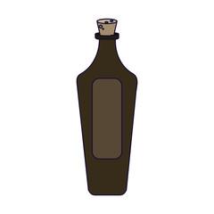 SPA oil glass bottle