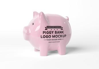 Piggy Bank Mockup